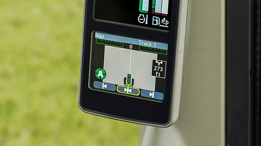 close up of autotrac display